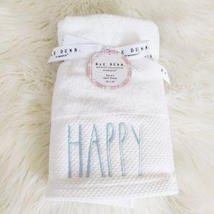 Rae Dunn Happy Easter Towels Set of Two NWT